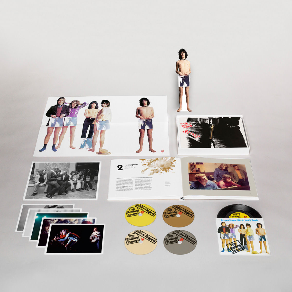 The Basement Discs The Rolling Stones Sticky Fingers