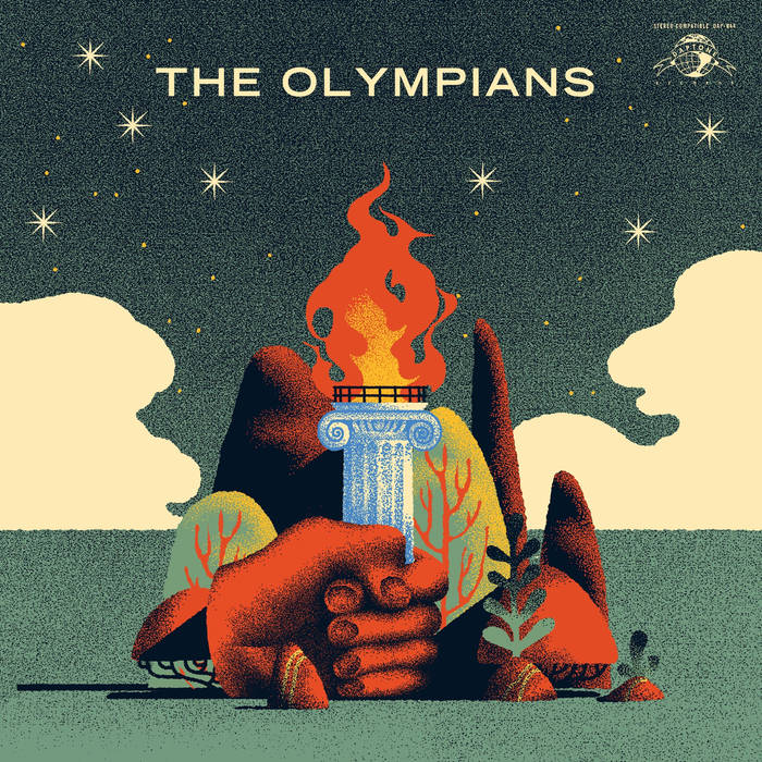 THE OLYMPIANS 'S/T' CD - The Basement